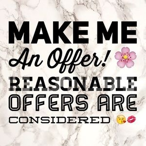 Other - Make me an offer 😘